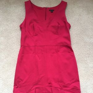 //3 for $15// Ann Taylor Solid Red Dress